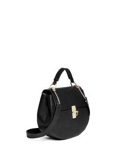 Chloé'Drew' medium pebbled leather shoulder bag