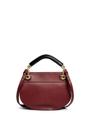 Back View - Click To Enlarge - Chloé - 'Goldie' small leather satchel