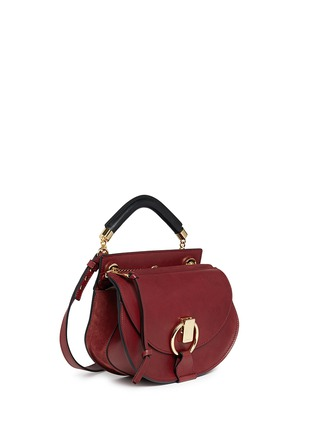 Front View - Click To Enlarge - Chloé - 'Goldie' small leather satchel