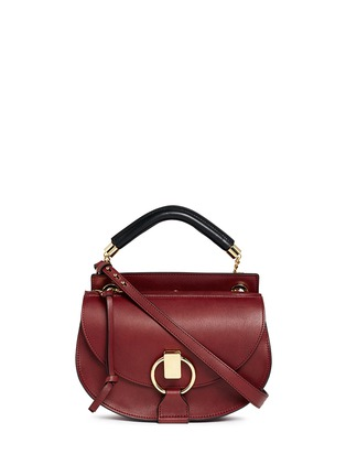 Main View - Click To Enlarge - Chloé - 'Goldie' small leather satchel