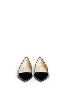 Jimmy Choo 'Alina' patent leather flats