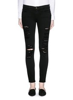 'Le Skinny de Jeanne' rip slim fit jeans