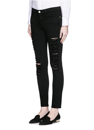 Front View - Click To Enlarge - Frame Denim - 'Le Skinny de Jeanne' slim fit jeans
