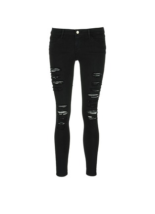 Main View - Click To Enlarge - Frame Denim - 'Le Skinny de Jeanne' slim fit jeans