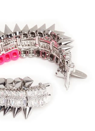 Detail View - Click To Enlarge - Venna - Crystal spike bracelet