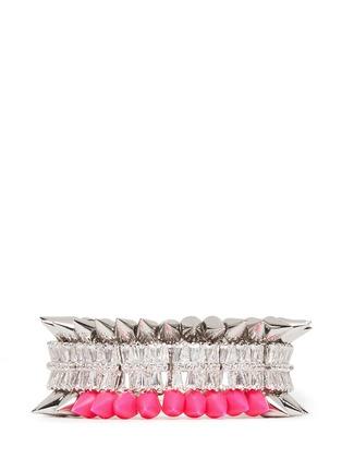 Main View - Click To Enlarge - Venna - Crystal spike bracelet