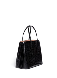 AZZEDINE ALAÏAPerforated leather tote