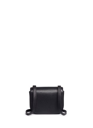 Detail View - Click To Enlarge - Mulberry - 'Small Selwood' metal tab leather crossbody bag