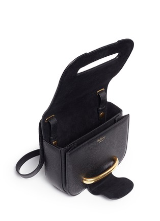 - Mulberry - 'Small Selwood' metal tab leather crossbody bag