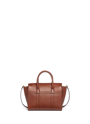 Detail View - Click To Enlarge - Mulberry - 'Small Bayswater' vegetable tanned leather tote