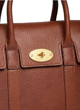 - Mulberry - 'Small Bayswater' vegetable tanned leather tote