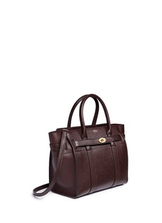 Mulberry'Small Zipped Bayswater' grainy leather tote