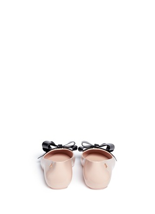 Melissa - 'Space Love IV' bow PVC flats