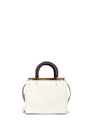 Back View - Click To Enlarge - Coach - 'Rogue 25' glovetanned leather satchel