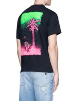 Beach back print T-shirt