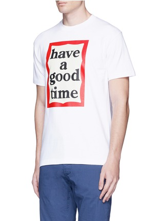 Front View - Click To Enlarge - Have A Good Time - 'Have A Good Time' frame print T-shirt