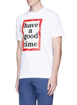 'Have A Good Time' frame print T-shirt