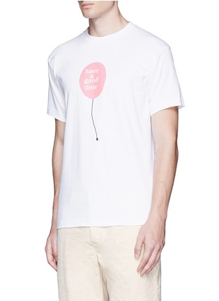 Front View - Click To Enlarge - Have A Good Time - 'Have A Good Time' balloon print T-shirt