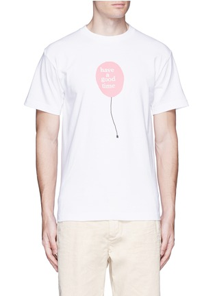 Main View - Click To Enlarge - Have A Good Time - 'Have A Good Time' balloon print T-shirt