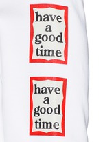 'Have A Good Time' frame print sweatshirt