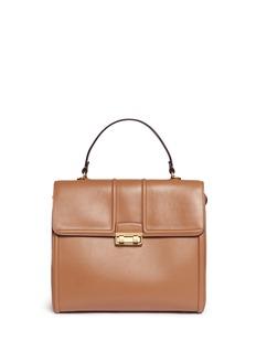 Lanvin'Jiji' medium top handle leather bag