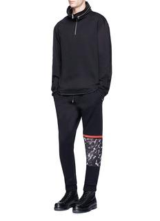 McQ Alexander McQueenLeopard print panel sweatpants