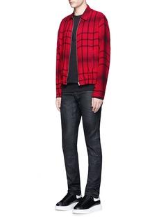 McQ Alexander McQueenTartan plaid blouson jacket