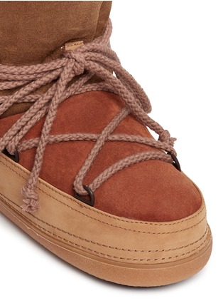Detail View - Click To Enlarge - INUIKII - 'Classic Patchwork' sheepskin shearling boots