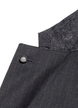 Lardini-Pinstripe wool suit
