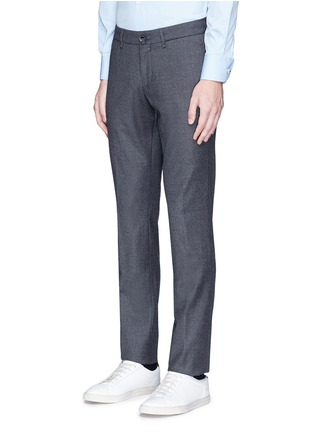 Front View - Click To Enlarge - Lardini - Slim fit wool pants