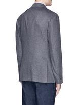'Leisure' silk cashmere flannel blazer