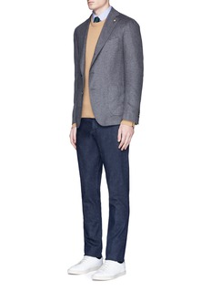 Lardini'Leisure' silk cashmere flannel blazer