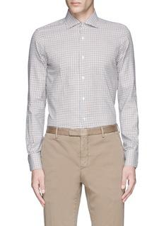 LardiniCheck cotton shirt