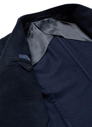 Detail View - Click To Enlarge - Lardini - Cashmere flannel coat
