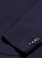 'Specialine' wool hopsack blazer