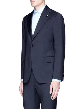 Front View - Click To Enlarge - Lardini - 'Archilight' wool suit