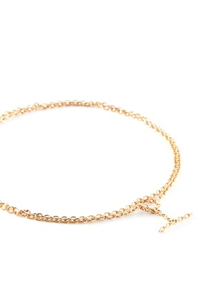 Detail View - Click To Enlarge - Shihara - 'Chain' 18 yellow gold toggle bracelet