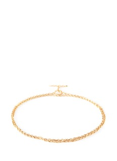 Shihara 'Chain' 18k yellow gold toggle chain bracelet