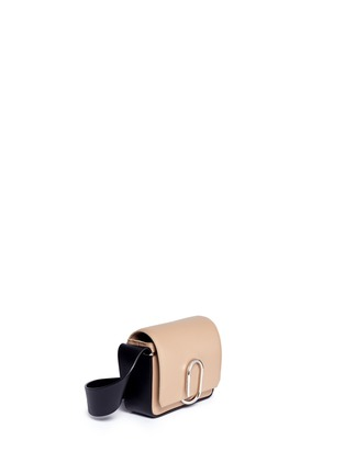 Front View - Click To Enlarge - 3.1 Phillip Lim - 'Alix' mini paperclip flap leather shoulder bag