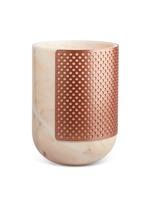 Rabbet marble vase
