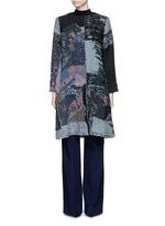 'Gigi' patchwork brocade one of a kind coat