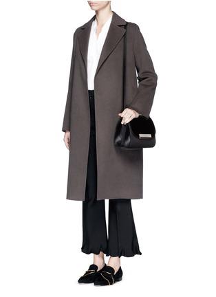 Hillier Bartley-'Shoulder' ponyhair leather bag