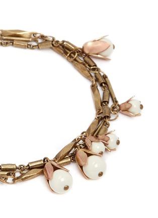 细节 - 点击放大 - ISABEL MARANT  - 三重立体花卉吊饰手链