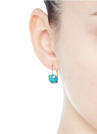 Figure View - Click To Enlarge - Isabel Marant - 'Jacques' stone cabochon drop earrings