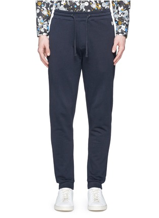 Main View - Click To Enlarge - KENZO - Tiger logo plate sweatpants