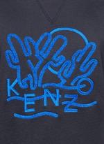 'Dancing Cactus' appliqué sweatshirt