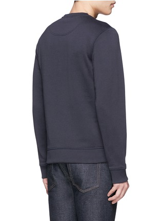 Back View - Click To Enlarge - KENZO - Mix badge print sweatshirt