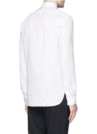 背面 - 点击放大 - NEIL BARRETT - 闪电图案纯棉衬衫