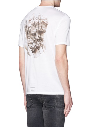 背面 - 点击放大 - NEIL BARRETT - 雕塑图案纯棉T恤