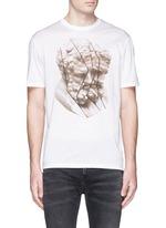 Fragment sculpture print T-shirt